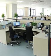 研发团队舒适的办公环境