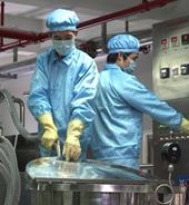 整个生产流程严格按照国家GMP标准执行